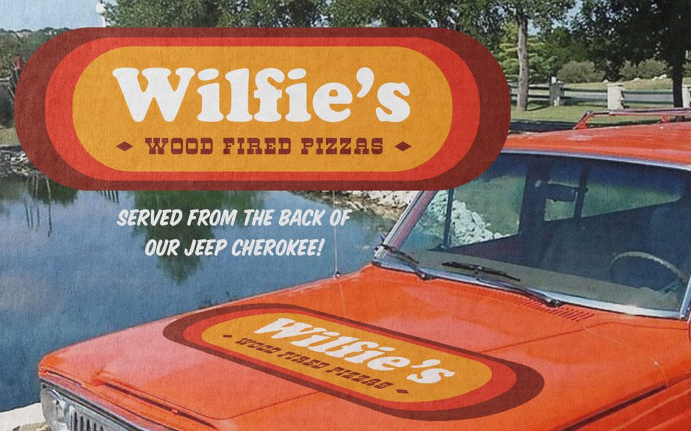 Logo Design WIlfie's Pizza